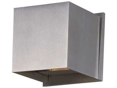 ET2 Alumilux AL Satin Aluminum Two-Light Outdoor Wall Light ET2E41308SA