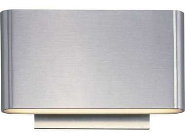 ET2 Alumilux AL Satin Aluminum Six-Light Outdoor Wall Light ET2E41310SA