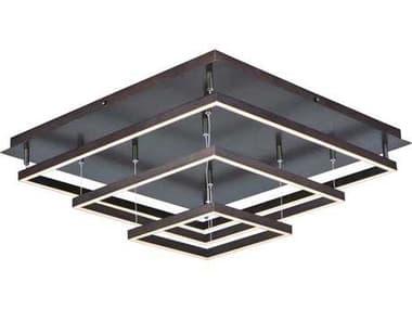 ET2 Quad Bronze 12-Light Semi-Flush Mount Light ET2E22408BZ