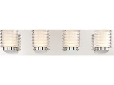 Eurofase Lighting Ancona Chrome 4-light LED Wall Sconce EUL31791014