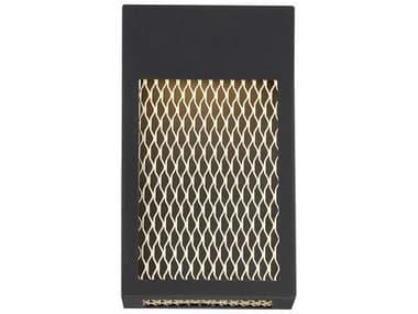Eurofase Lighting Coop Sand Black 6'' Wide LED Outdoor Wall Light EUL35926016