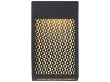 Eurofase Lighting Coop Sand Black 7'' Wide LED Outdoor Wall Light EUL35927013