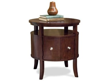 Fairfield Chair Manhattan 24'' Wide Round End Table FFC812098