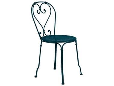 Fermob 1900 Steel Metal Dining Chair (Set of 2) FER2201