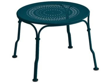 Fermob 1900 18'' Wide Steel Round End Table FER2233