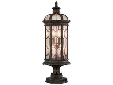Fine Art Lamps Devonshire Antique Bronze Four-Light Outdoor Pier Mount FA4144831ST