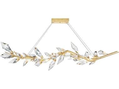 Fine Art Lamps Foret 63'' Wide Crystal Island Light FA902440