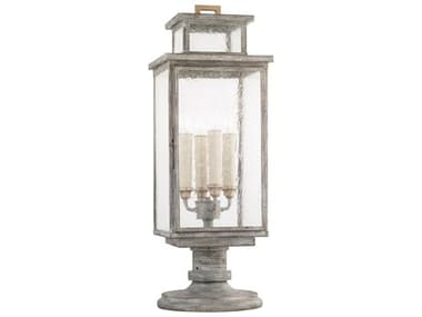 Fine Art Lamps Wiltshire Weathered Grey Four-Light 10'' Wide Outdoor Adjustable Pier/Post Light FA886980ST