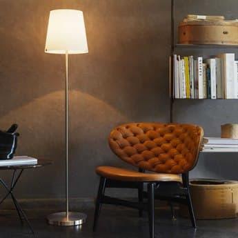Fontana Arte 3247 Nickel Floor Lamp FONU3247