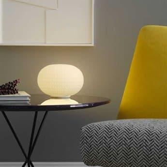 Fontana Arte Bianca White LED Table Lamp FONU4308BI