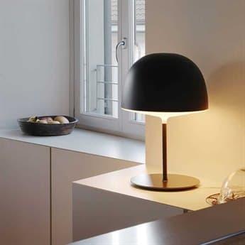 Fontana Arte Cheshire Black Table Lamp FONUL4251N