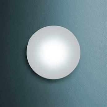 Fontana Arte Sole Clear Glass 144-Lights 5'' Wide LED Vanity Light / Flush Mount Light FONUL414130K