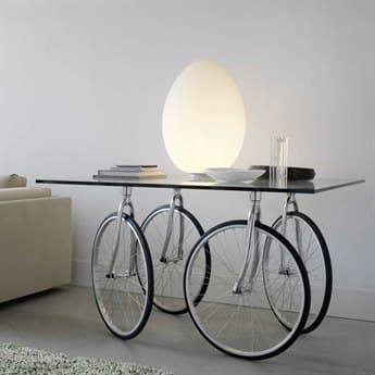Fontana Arte Tour Stainless Steel 47'' Wide Square Dining Table FON3005