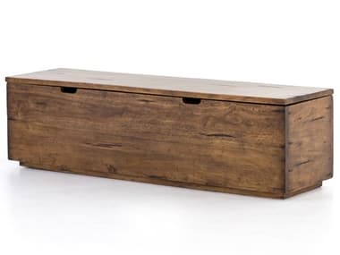 Four Hands Harmon Reclaimed Fruitwood Trunk FSIHRM156