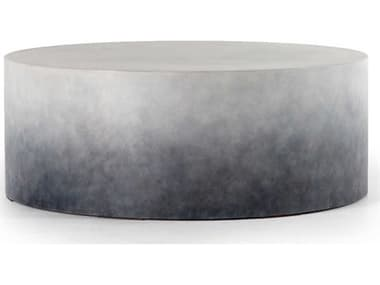 Four Hands Thayer Indigo Ombre 42'' Wide Round Coffee Table FSVTHY001