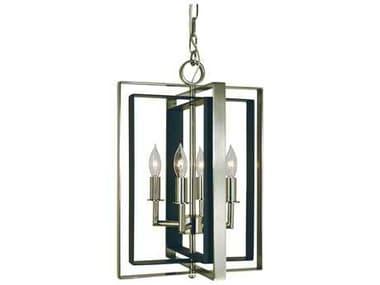 Framburg Symmetry Four-Light 12'' Wide Mini Chandelier RM4860