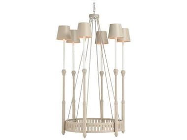 Frederick Cooper Taupe 6-light 31'' Wide Medium Chandelier FDC65733
