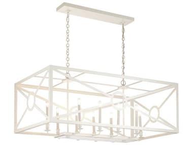 Frederick Cooper White 10-light 50'' Wide Island Light FDC65715