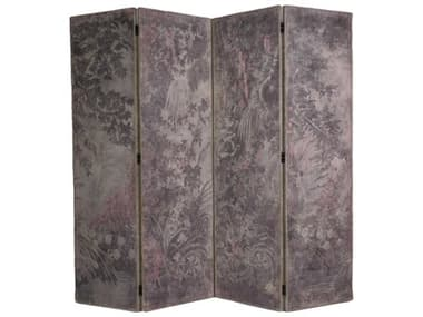 French Market Collection 4 Panel Room Divider FMCSC001