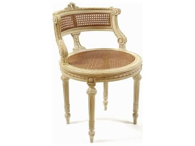 French Market Collection Cream Lisette Accent Chair FMCS2CR2