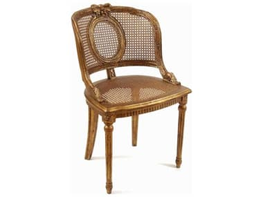 French Market Collection Lillian Gold Dining Chair FMCCH10G