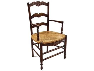 French Market Collection Provence Brown Arm Dining Chair FMCCH7ABR2