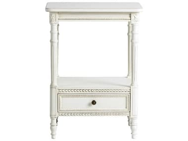 French Market Collection Cream 20'' Wide Rectangular End Table FMCTB25CR31