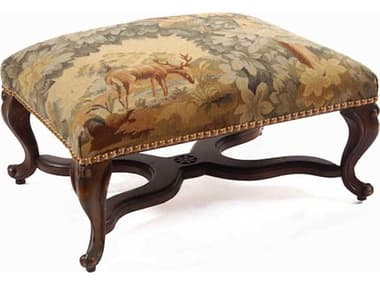 French Market Collection Stag Ottoman FMCOT1BR2AJ2201
