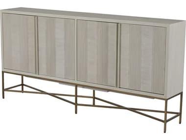 Gabby Home Cerused White / Stain Brass Carol Buffet GASCH165075