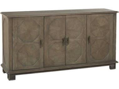 Gabby Home Charcoal Oak / Antique Brass Rhodes Tv Stand GASCH155890