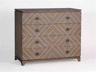 Gabby Home Natural Oak & White Faux-bone Four-Drawer Terrance Single Dresser GASCH270225