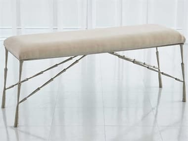 Global Views Nickel Accent Bench GV790875