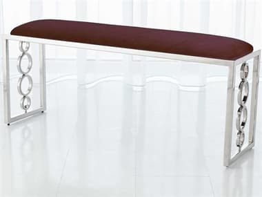 Global Views Nickel Accent Bench GV992933
