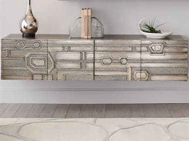 Global Views Polished / Shiny Silver White Antiqueing Accent Chest GV993122