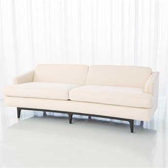 Global Views Crescent Sofa Couch GV2613