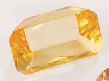 Global Views Oxford Jewel Yellow Emerald Decorative Accent GVJB880044