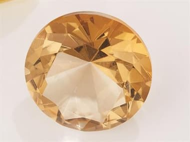 Global Views Oxford Jewel Yellow Round Decorative Accent GVJB880045