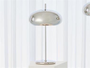 Global Views Nickel 2-light Desk Lamp GV993053