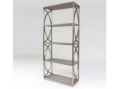 Global Views Grey / Polished Stainless Steel Etagere GV420051
