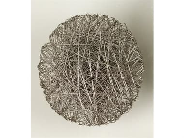 Global Views Medium Nickel Metal Wall Art GV992125