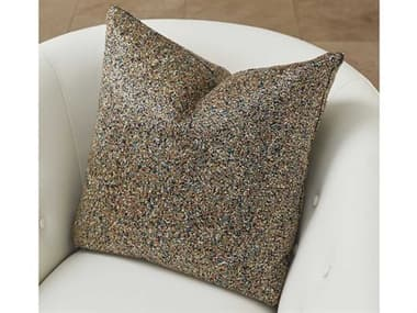 Global Views Multi Beaded Gold Pillow GV993206