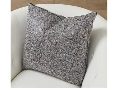 Global Views Multi Beaded Blue / Silver Pillow GV993207