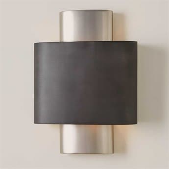 Global Views Antique Nickel / Graphite Wall Sconce GV790805HW