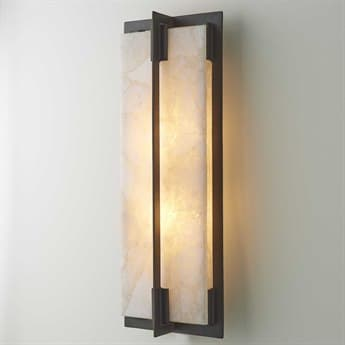 Global Views Bronze / White Powder Coated Wall Sconce GV790824