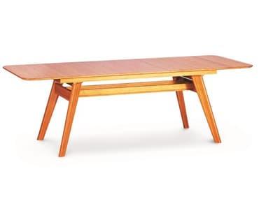 Greenington Currant Caramelized 72'' x 36'' Rectangular Extendable Dining Table GTG0022CA