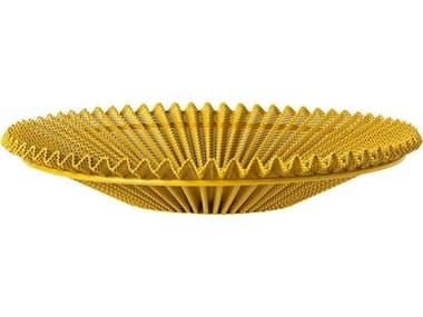 Gubi Mategot Mustard Gold Semi Matt Decorative Plate GUB10013861