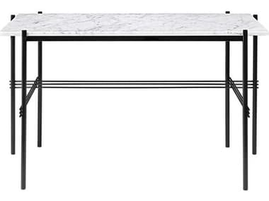 Gubi Ts White Carrara Marble / Black Computer Desk GUB10017401