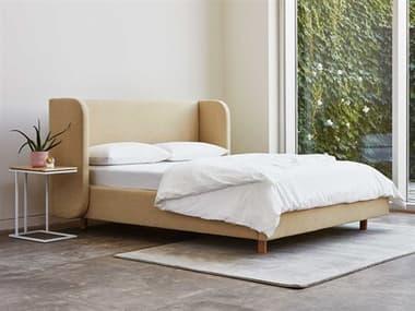 Gus* Modern Asheville Bedroom Set GUMECBDASHEGRAFLAANQNSET