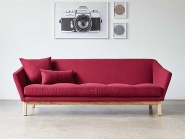 Gus* Modern Astrid Stockholm Merlot Sofa Couch GUMECSFASTRSTOMER