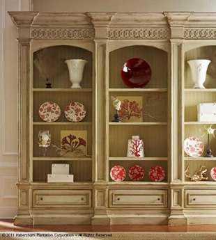 Habersham Hathaway Triple Bookcase HA270123